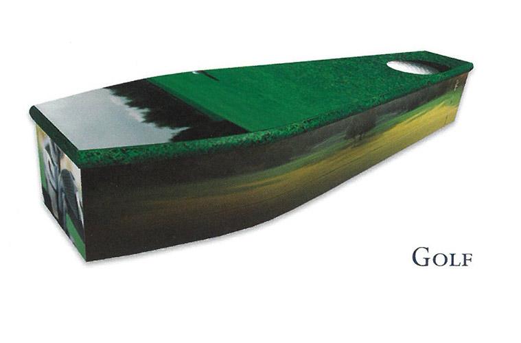 Colourful Coffins Golf