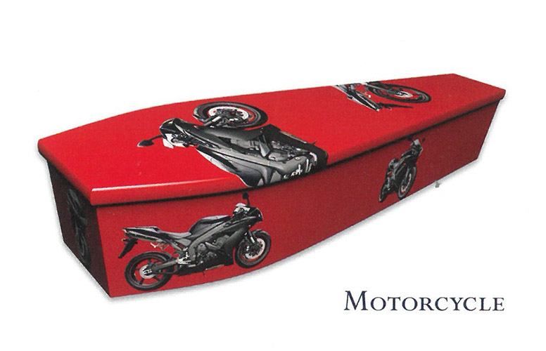 Colourful Coffins Motorbike